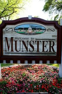 Photo of Welcome to Munster sign